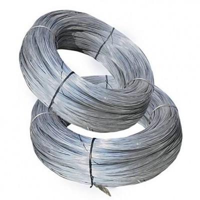 ПРОВОЛОКА оцинкованая, (Ø 2.0) не обработанная, в мотках 80-120 кг.